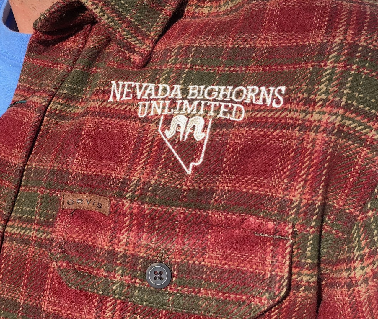 Orvis Men's Heavyweight Flannel Shirt