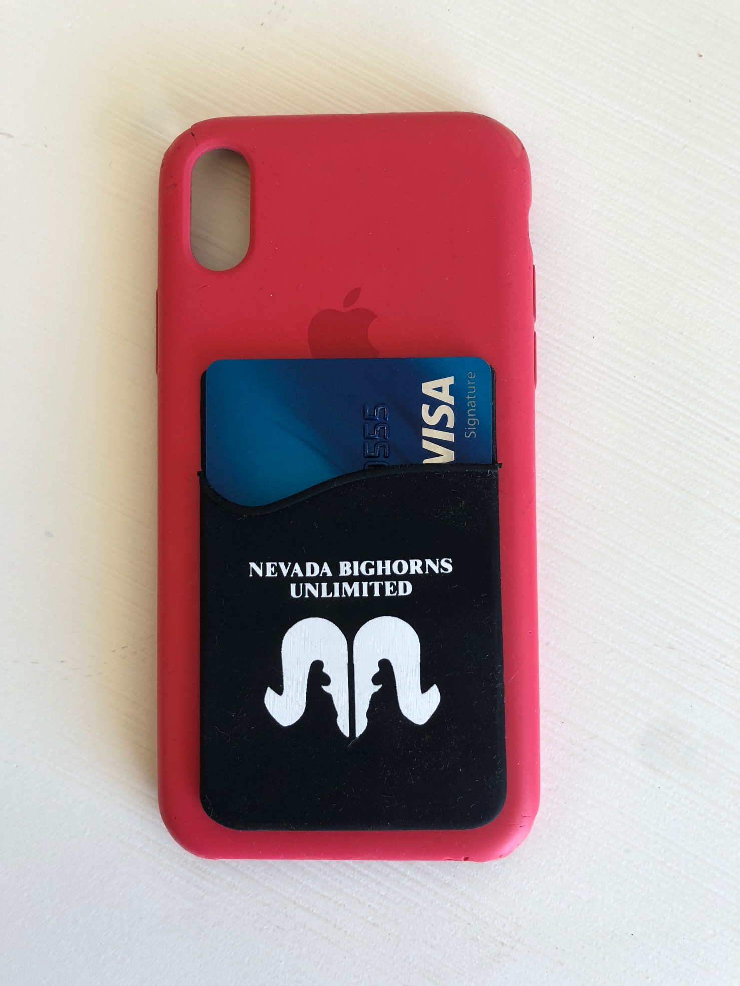 NBU Phone Credit Card Holder